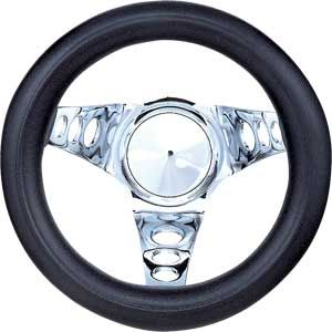 Grant 829 Black Foam Grip Steering Wheel Jegs