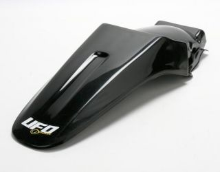 UFO Plastics Rear Fender   Black / Big Bike Style for Kawasaki KX85 01