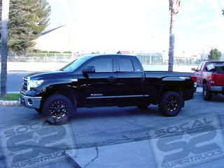 FUEL OFF ROAD BLACK WHEELS 20 X 9 BOOST 2007   2012 TOYOTA TUNDRA LIFT