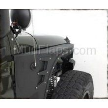 Smittybilt 76880 Jeep Wrangler XRC Armor Front Fenders JK Front