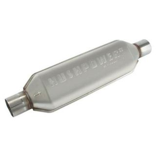 New Flowmaster 17 Hushpower II 409 Polishable Stainless Steel Muffler