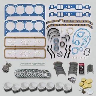 Fed Mogul Engine Rebuild Kit SBC 327 040 Bore 010 Rods 010 Mains