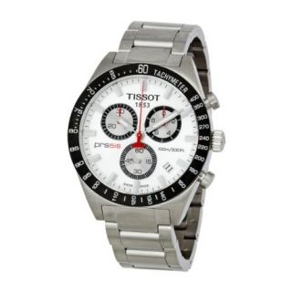 Tissot PRS 516 T044.417.21.031.00 Stainless Steel Case anti reflective