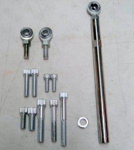 Big Block Chevy 396 427 454 Chrome Aluminum Alternator Bracket Short