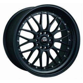 XXR 521 17x7 38 Flat Black Wheels Rims