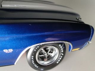 Classic Muscle Chevy Super Sport124 Scale Franklin Diecast Car Model