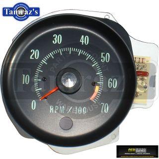 70 Chevelle El Camino SS Dash Tach Tachometer 6500 RPM