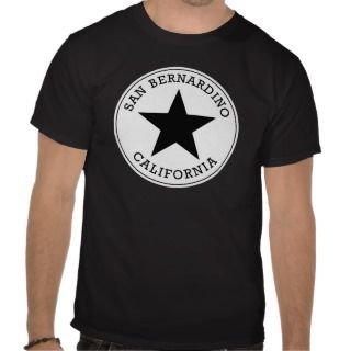 San Bernardino California T Shirt