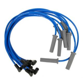 Wires RFI Suppression 8mm Blue Multi Angle Boots Chevy GMC 454