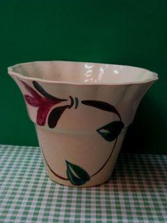 Vintage Napco Flower Pot Vase Cleveland Ohio USA Pottery