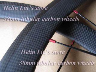 38mm Tubular Carbon Road Wheelset with Light Weight Hub A291SB F482SB
