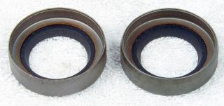 National Wheel Seal Fits Boat RV Travel Trailer Wheels Set of 2