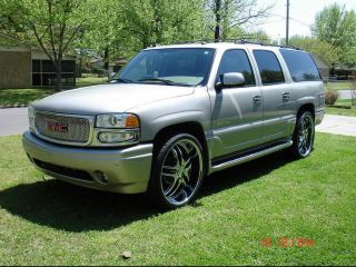 Wheels 26 inch Chrome Black Rims Rockstarr 410 5 Bolt