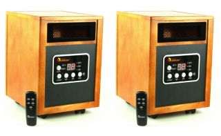 Dr. Infrared Heater DR 968 1500W Portable Electric Space Heaters