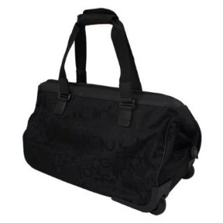 New with Tags Kenneth Cole Taking Flight Travel Bag 21 Wheeled Black