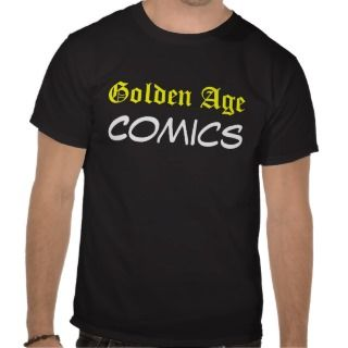Golden Age Comics The Face Tee Shirt