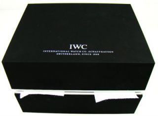 New IWC Pilot Worldtimer Automatic Watch Black Dial Mens 46 mm