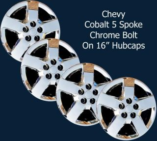 Chevrolet Cobalt Style Chrome 16 Hubcaps Wheel Covers Set/4 440 16C