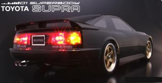 10 RC Body Car Toyota Supra Turbo