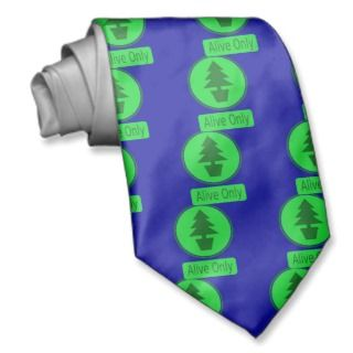 Save The Trees Conservation & Recycling Pays Necktie