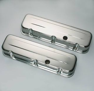 Dapt Performance Chrome Valve Covers 9235 Chevy BBC 396 427 454