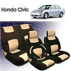 2001 2002 2003 2004 Honda Civic PU Leather Seat Cover items in