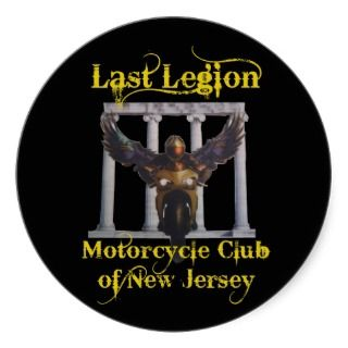 Last Legion Motorcycle Club of New Jersey Stickers
