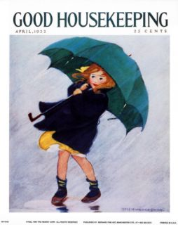 Good Housekeeping, April 1922 Print by Jessie Willcox Smith