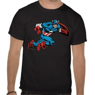 Captain America Retro T Shirt