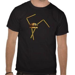 Burger Bot Tee Shirts