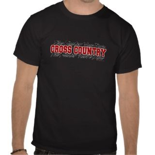 Cross Country   The Faster You Run Tshirt
