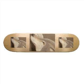 Lone Wolf Skateboard Deck