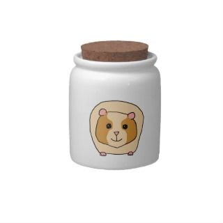 Guinea Pig Cartoon. Candy Jars