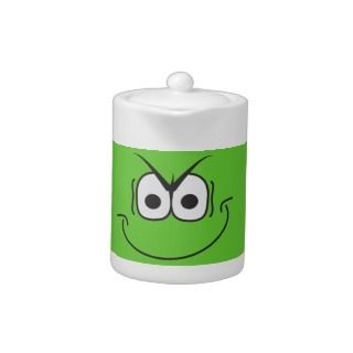 Novelty Humor Evil Genius Smiley Face Teapot
