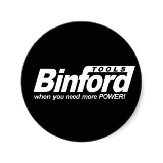 Binford Tools Dark Logo Stickers