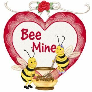 Bee Mine Honey Acrylic Cu Ous