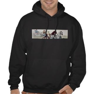 TOP Harness Racing Hooded Sweatshirts