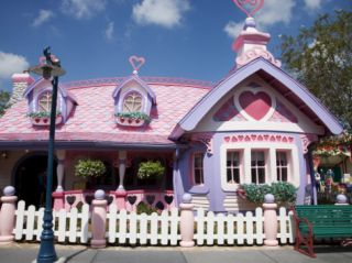 House of Minnie Mouse, Disney World, Orlando, Florida, USA Photographic Print by Angelo Cavalli