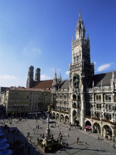 City Hall on Marienplatz, Munich, Bavaria, Germany, ope Photographic Print by Yadid Levy