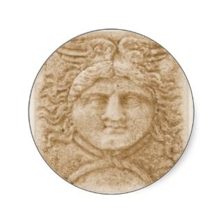 Greek God Hermes PICTURE ancient image of Hermes Stickers