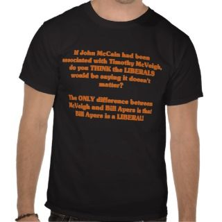 If John McCain had been associated with Timothy T Shirts