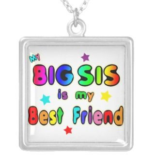 Big Sis Best Friend Custom Necklace
