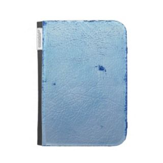 Vintage Blue Leather Case For Kindle