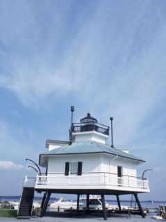 Old Famous Lighthouse, St. Michael, MD Photographic Print by Mike Robinson