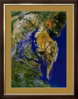 Chesapeake Bay from Space   ©Spaceshots Pre made Frame