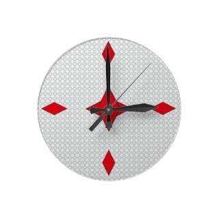 cool retro modern circles wall clock