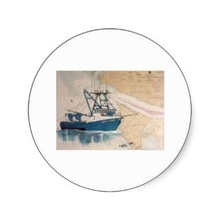 AMY LYNN West Coast Commercial Fishing Boat Stickers