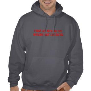dont like muslims cuz muslims dont like bacon hooded sweatshirt