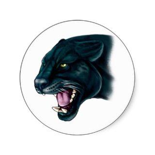 Beautiful Black Panther Sticker