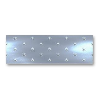 Brushed Star Metallic Texture Business Card Template